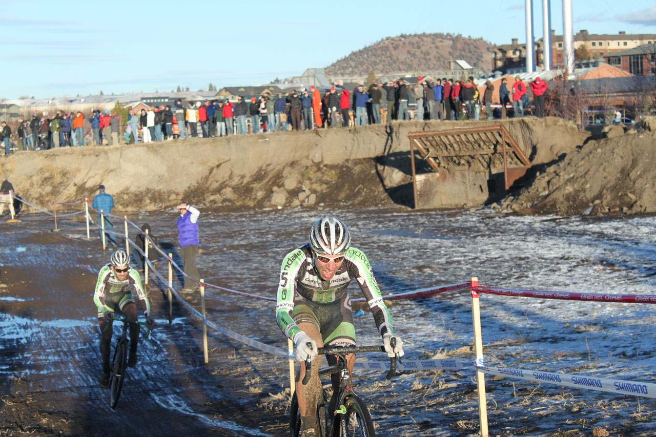 Powers and Driscoll were in place in case Johnson faltered. ? Cyclocross Magazine