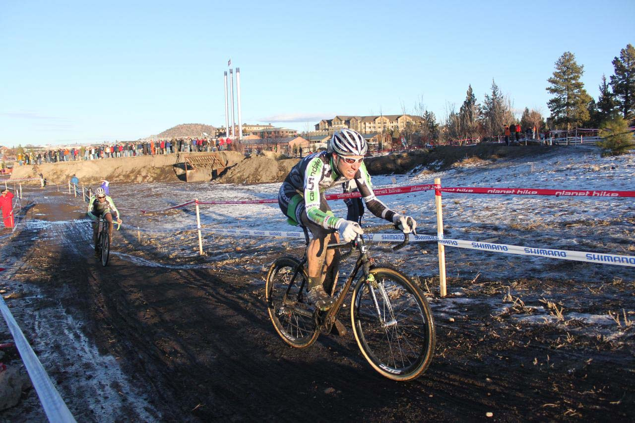 The teamwork of Cannondale/Cyclocrossworld.com put three riders in the top ten. ? Cyclocross Magazine