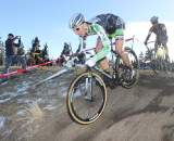 Powers would fade after an impressive start but still finish fifth in thestacked field. © Cyclocross Magazine