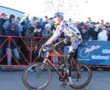 Trebon looked content with second. ? Cyclocross Magazine
