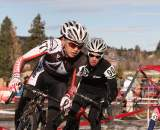 After winning the Junior race, Coryn Rivera (pictured) and Kaitlin Antonneau stepped up to the big leagues. ? Janet Hill