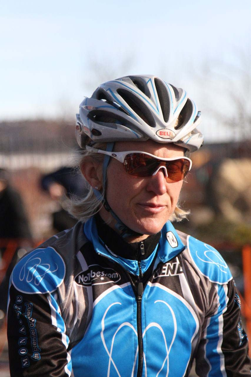 Sue Butler before the start. ? Janet Hill