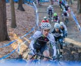 Curtis White (Cannondale p/b Cyclocrossworld) leads the early race. © Todd Prekaski