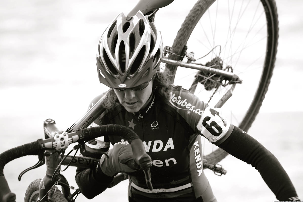 Mary McConneloug on run-up ? Natalia McKittrick | Pedal Power Photography | 2009