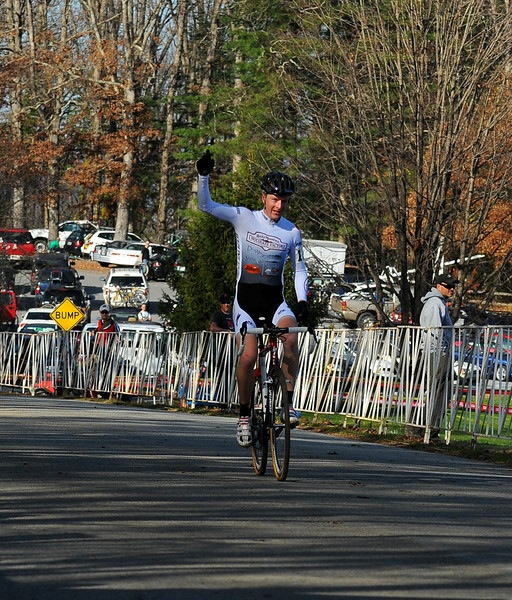 Matt Schriver takes his first UCI 'cross win.  ?Shane Orr