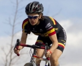 Emily Thurston finished third at the NCNCA 2010 Cyclocross Districts. © Tim Westmore