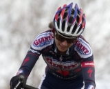 Ginal Hall enjoys racing in her second year back after retirement. NCNCA 2010 Cyclocross Districts. © Tim Westmore