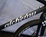 The Alchemy Bicycle Co. frame designed for her premiered at CXLA, but they tweaked the measurements and made a new one for USGP Bend. © Cyclocross Magazine