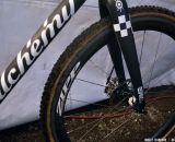 The ENVE front fork matches the frame's paint perfectly. © Cyclocross Magazine