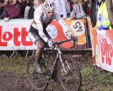 Sven Nys raced disc brakes for half the laps at Hamme-Zogge SuperPrestige cyclocross race. © Cyclocross Magazine