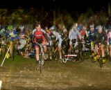 The first crash of the elite men's race. © Russ Campbell