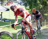 Todd Wells working his way up int he crowd at Nittany Lion Cross Day 1. © Cyclocross Magazine