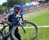 Robert Marion came from North Carolina for the season opener at Nittany Lion Cross Day 1. © Cyclocross Magazine