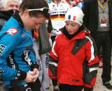 Gabby Day signs an autograph. ©Renner Custom CX Team