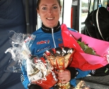 Day with her haul from the race. ©Renner Custom CX Team