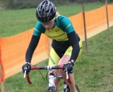 Margriet Kloppenberg on the course. ©Renner Custom CX Team