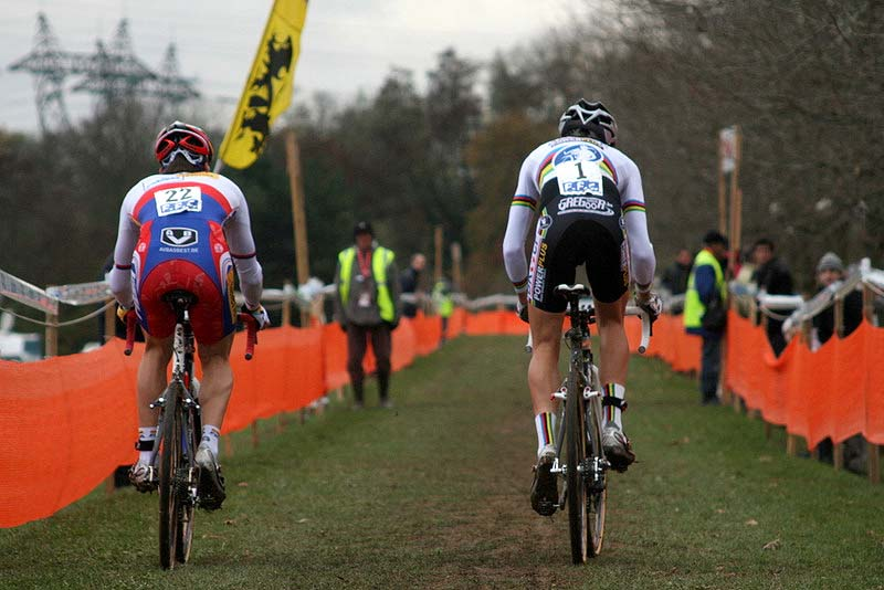 Down to a duel - Stybar and Albert. ? Bart Hazen