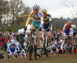 Kevin Pauwels leads a chase at Nommay. ? Bart Hazen