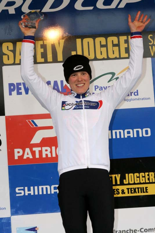 Compton\'s win increased her World Cup lead. ? Bart Hazen
