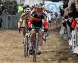 Sven Nys hit a rare high note this season taking the GVA overall. ? Bart Hazen
