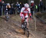 Nancy Bober was 15th in the final GVA race this season. ? Bart Hazen