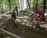 A sandy corner factored into the selections in the Men's Elite race. © Kent Baumgardt