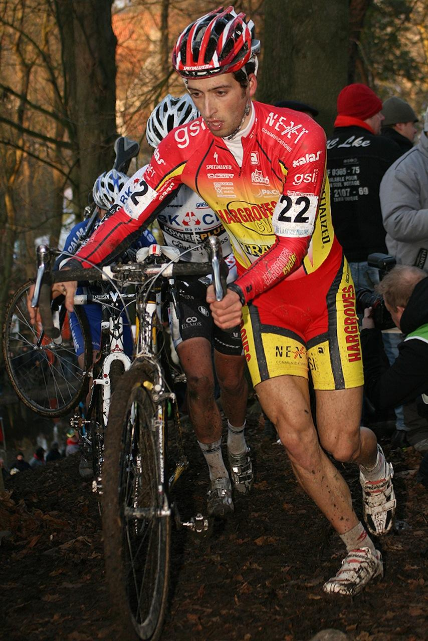 British racer Ian Field looked strong on a tough course. ? Bart Hazen