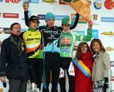 The Juniors podium in Overijse. ? Bart Hazen