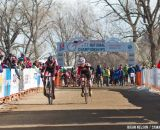 Jordan Lewis (Ashville Bicycle Club Racing) edged out Cameron Beard in the sprint for third.  ©Brian Nelson