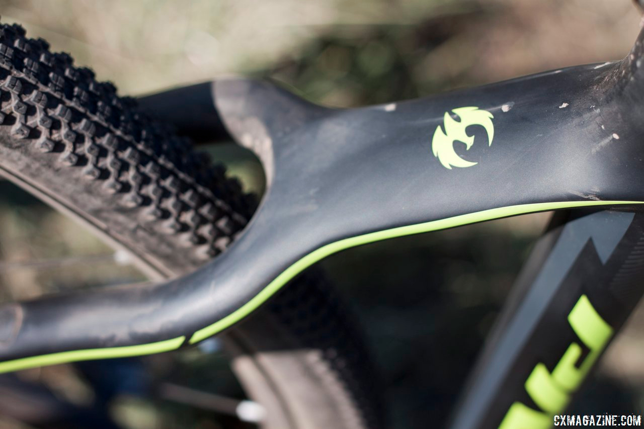 The seatstays should be wide enough to accommodate your preferred tire width.© Cyclocross Magazine