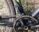The alloy FSA Gossamer Crankset and 46/36T chainrings will keep you driving through the course. © Cyclocross Magazine