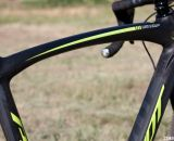 The updated black paint scheme with neon accents reminds us of the 2012 Felt F2x we saw at Sea Otter.  © Cyclocross Magazine