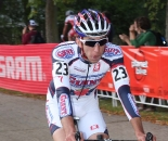 Chance Noble took the lead in the U23 category. ? Amy Dykema