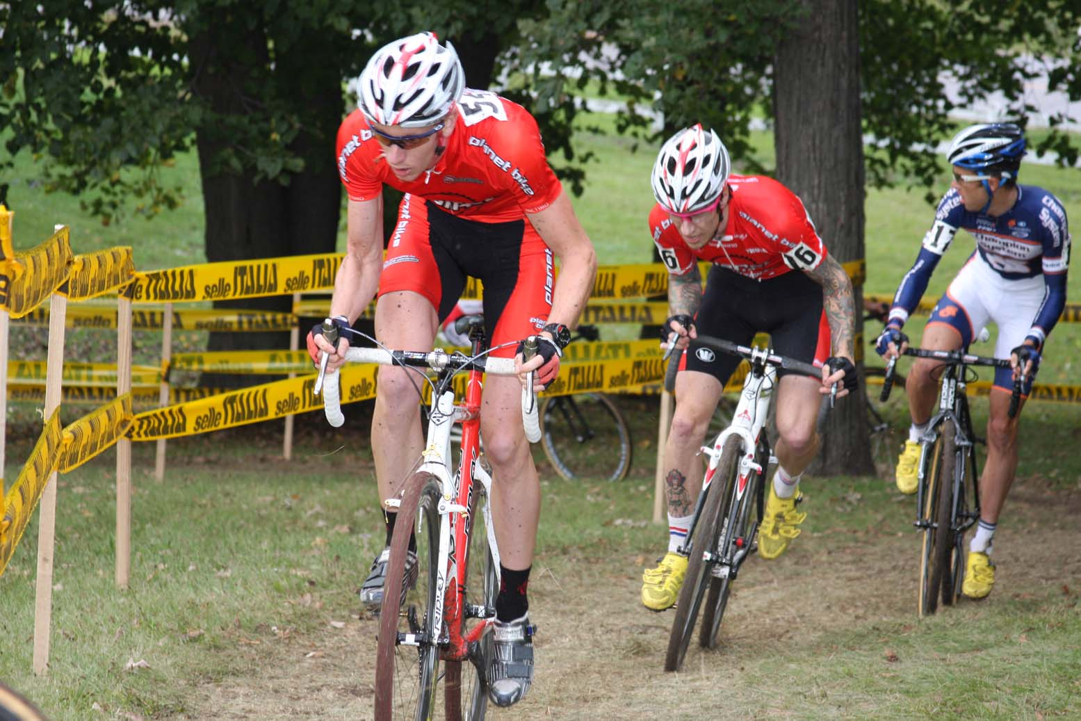 Tristan Schouten (Planet Bike) and Mark Lalonde (Planet Bike) had career days. by Amy Dykema
