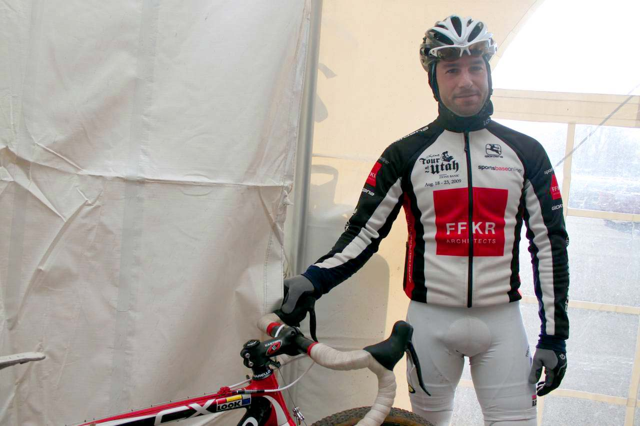 Goulet is hoping his Pinarello will carry him to the podium in Bend. ? Cyclocross Magazine