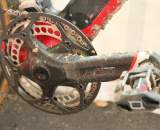 The beefy Easton EC90 cranks maximize power transfer. ? Cyclocross Magazine