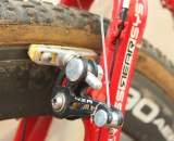 4zA brakes with Swissstop yellow pads are the choice for Goulet.