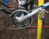 Dunlap runs the tested combination of Dura Ace cranks and XTR pedals. ? Cyclocross Magazine