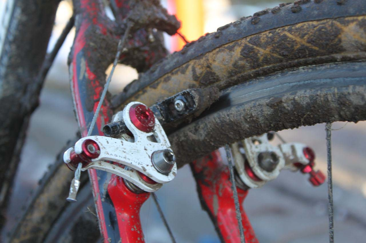 EuroX brakes provide good stopping even when conditions deteriorate. © Cyclocross Magazine