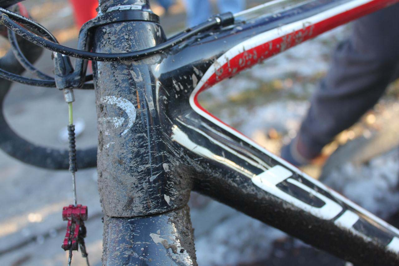 Tapered head tubes are a new trend in \'cross. © Cyclocross Magazine