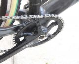 Who says you can't win a National Championship on a single ring, SRAM Rival crankset? © Cyclocross Magazine