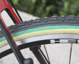 The Apollo Arctec's seat stays appear to offer generous tire and mud clearance, something that came in handy in Jacobs' National Championship ride. © Cyclocross Magazine