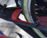 FMB SSC tubulars with custom Australian Champ  colored sidewalls. © Cyclocross Magazine