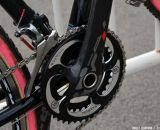 WickWerks 34x44 chainrings on Mo Bruno Roy's Seven Cycles Mudhoney Pro bike. © Cyclocross Magazine