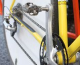 The drivetrain is a simple, elegant affair. © Cyclocross Magazine