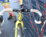 The simplicity of non-integrated levers. © Cyclocross Magazine