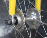 Suntour Superbe Pro High flange hubs has many a retro-grouch drooling. © Cyclocross Magazine