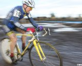 Curley flies to fourth in Bend. © Cyclocross Magazine