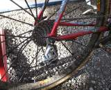Wells uses Gore RideOn in the tough conditions of cross. ? Cyclocross Magazine