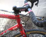 The Easton cockpit spins on a Chris King headset. ? Cyclocross Magazine